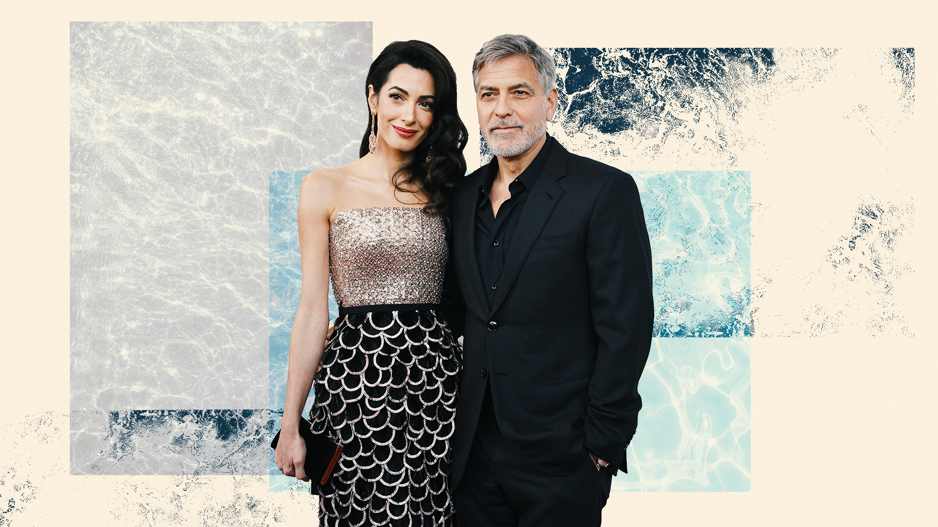 Get to Know 3-Year-Old Ella & Alexander Clooney