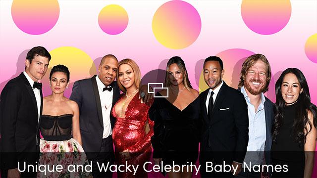 nombres únicos de celebridades para bebés
