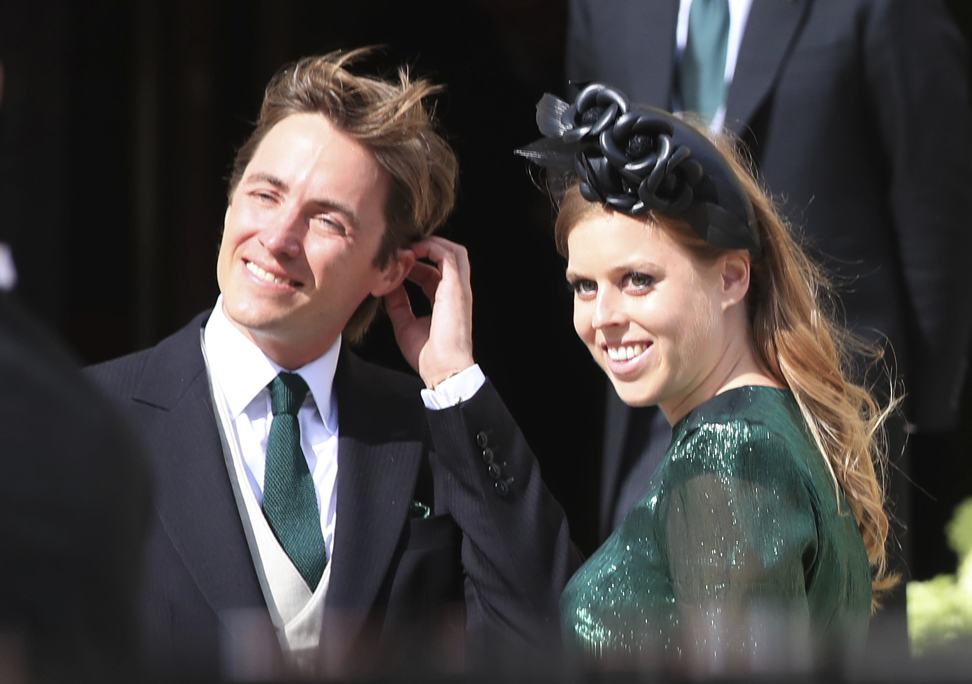 Princess Beatrice S Wedding Dress Tiara Were Borrowed From The