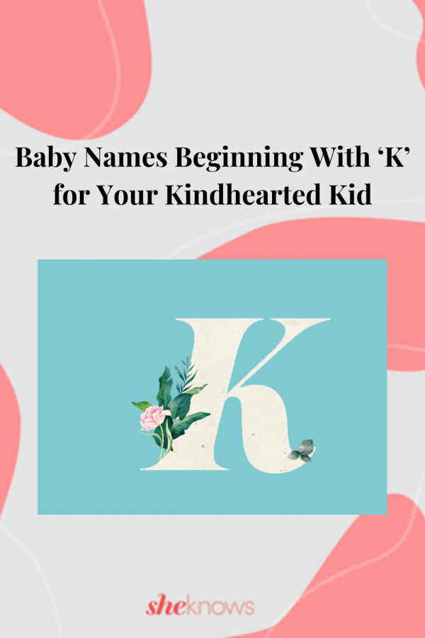 Baby Names Beginning With 'K'