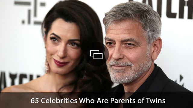 'George Clooney and Amal'