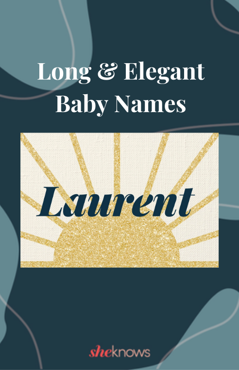 Long and elegant baby names