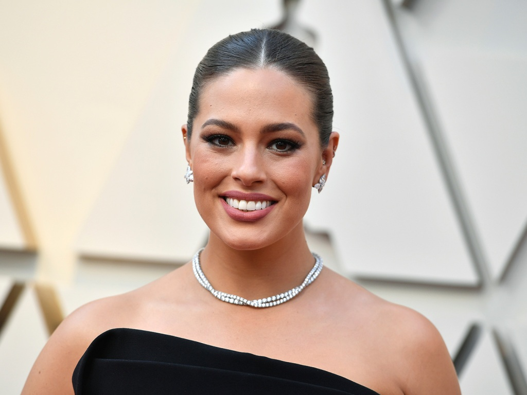 Ashley Graham Squishing Her Postpartum Belly into a Heart Is Exactly What We Needed