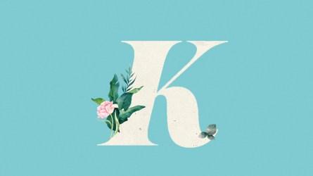 Baby names alphabet letter K