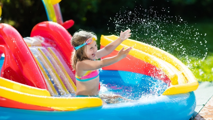 best kids pool with slide amazon