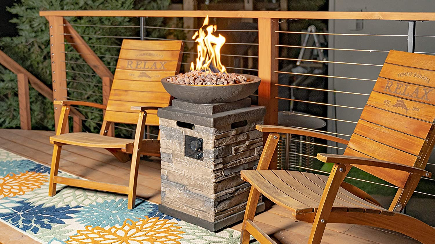 Picture of: The Best Outdoor Gas Fire Pits That You Can Buy On Amazon Sheknows