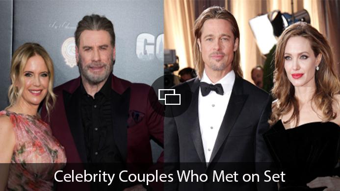 Brad Pitt Angelina Jolie John Travolta Kelly Preston