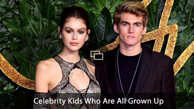Kaia Gerber and Presley Gerber