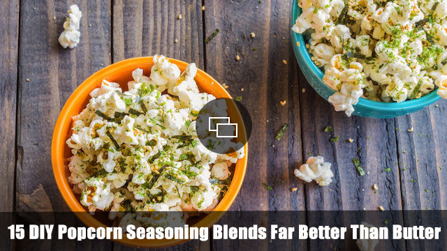 DIY popcorn seasoning slideshow embed