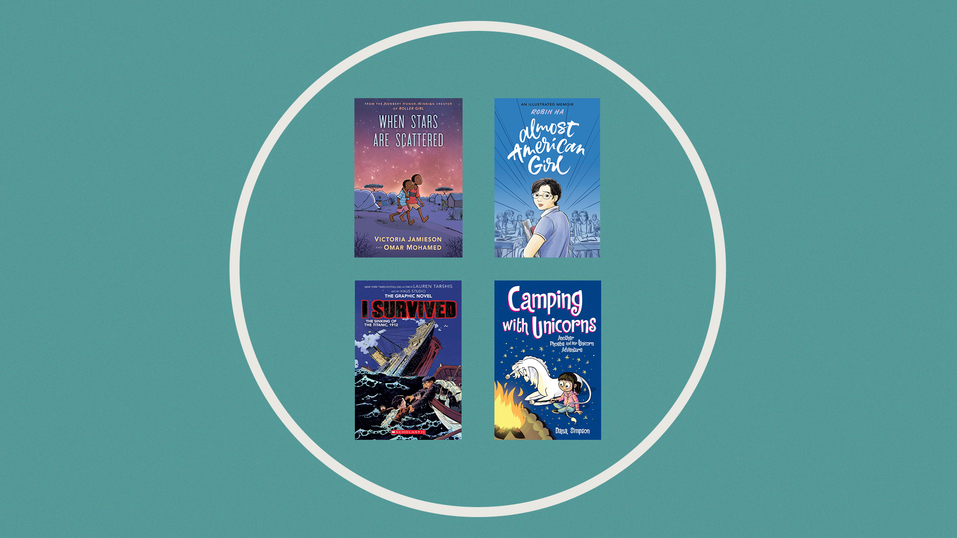 Your Kids Will Devour These Middle Grade & YA Graphic Novels