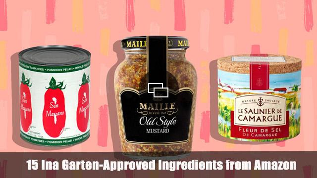 Ina Garten ingredients Amazon embed