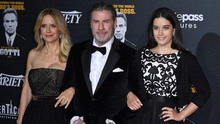 Kelly Preston John Travolta and Ella