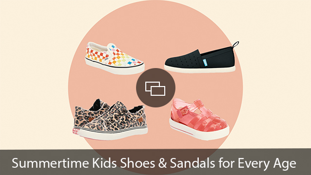 kids summertime shoes sandals