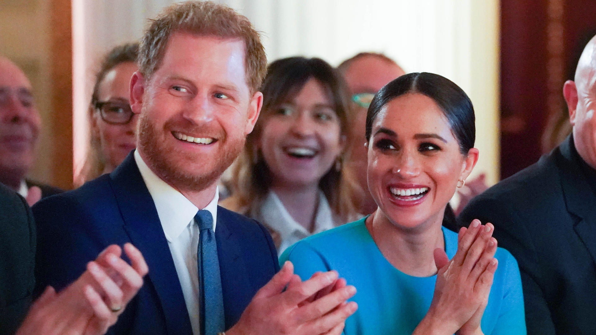 This Meghan Markle Slip-Up with the Royal Family Even Had Prince Harry Cringing