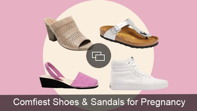 pregnancy sandals shoes