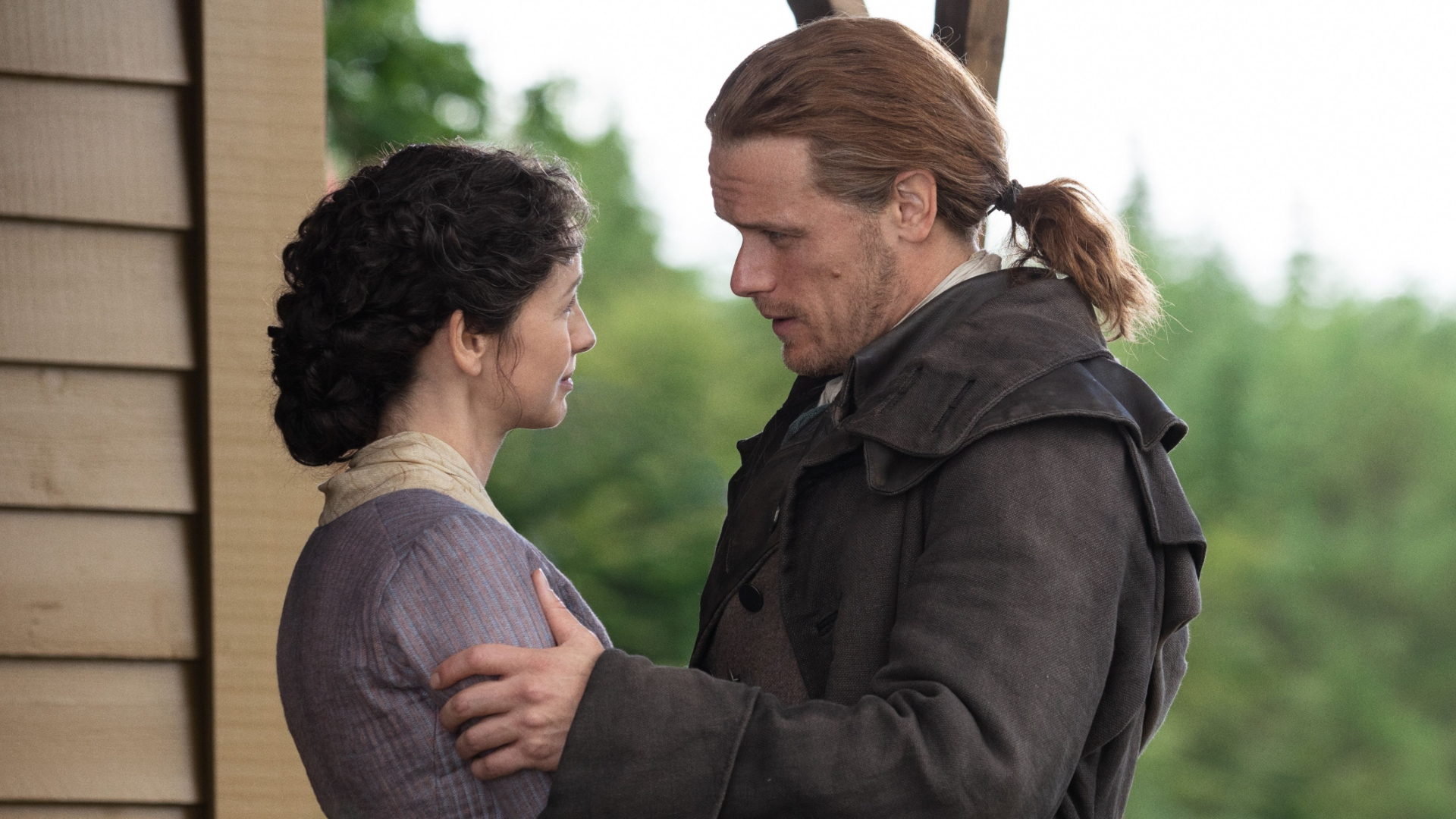 We're Swooning at This Newly Released 'Outlander' Scene of Claire & Jamie