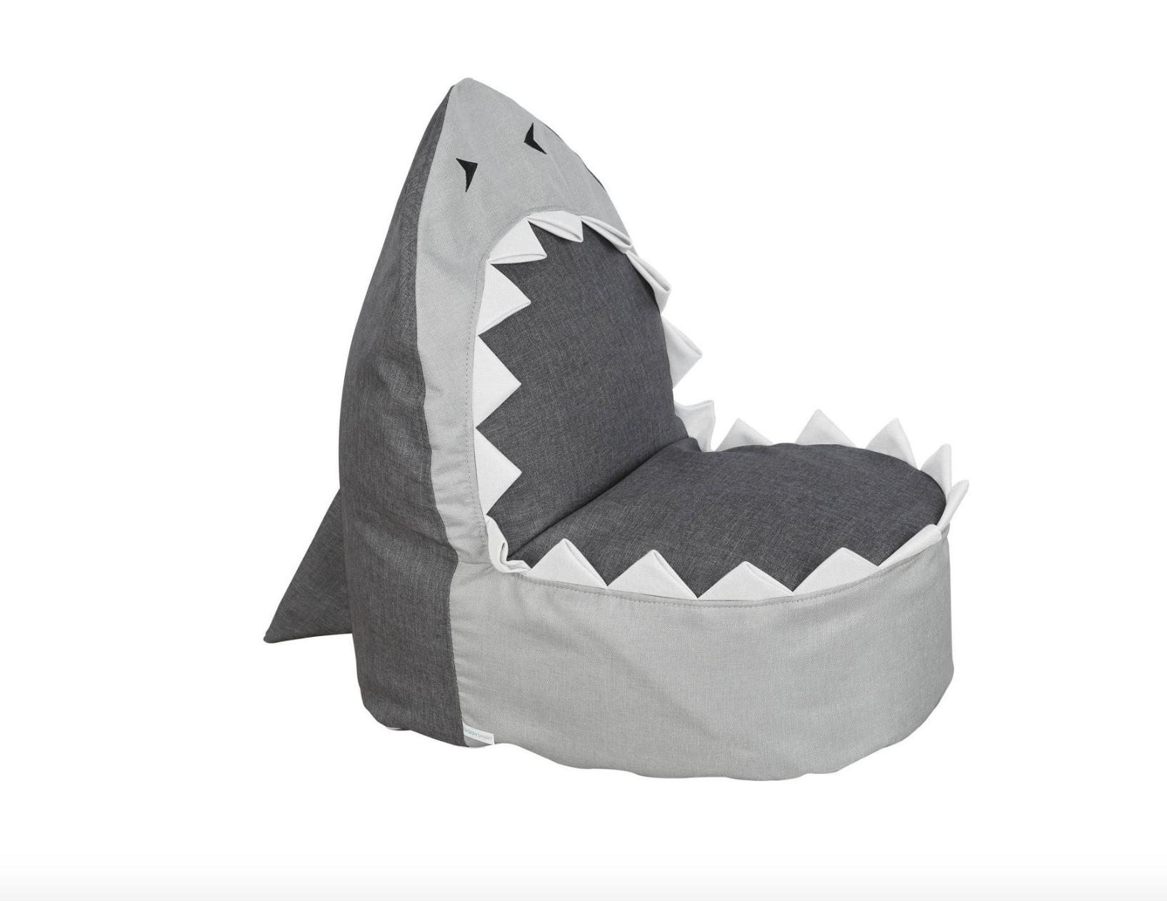 Sharky the Shark Kids Beanbag