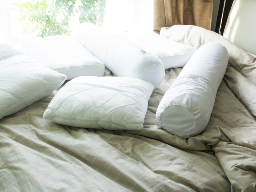 Firm Bolster Pillows That'll Give You Much-Needed Support