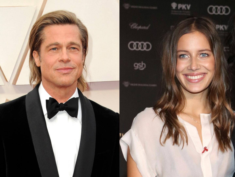 Brad Pitt S New Girlfriend Nicole Poturalski May Be In Open Marriage Sheknows