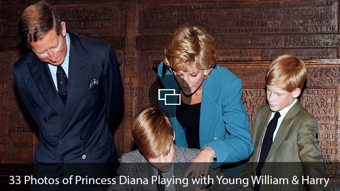 Princess Diana, William Harry Prince Philip