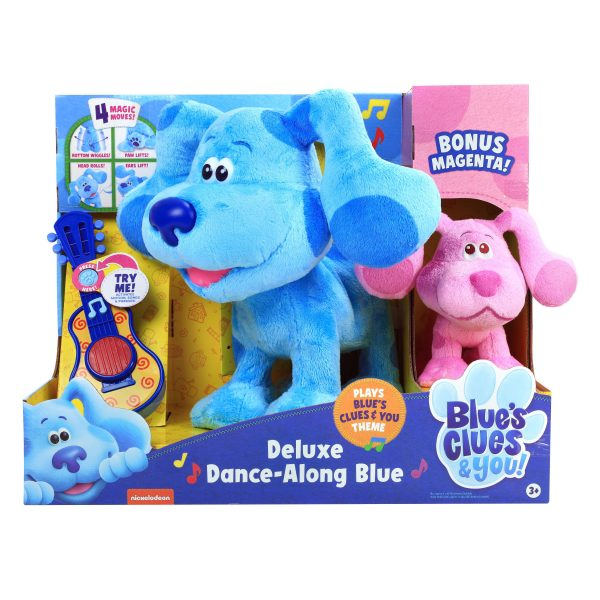 Blues Clues Dancing Blue