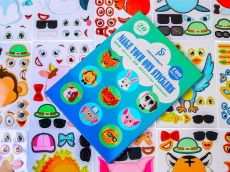 The Coolest DIY Stickers for Kids