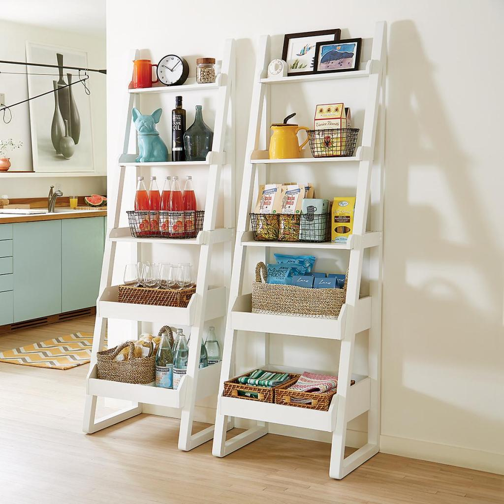 bookshelf, container store