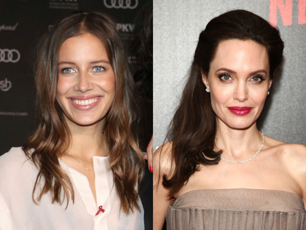 Brad Pitt's Girlfriend Nicole Poturalski Responded to Claims That She 'Hates' Angelina Jolie