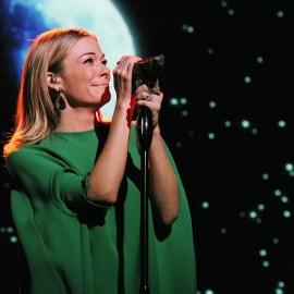 Leanne Rimes performs live at Trevor