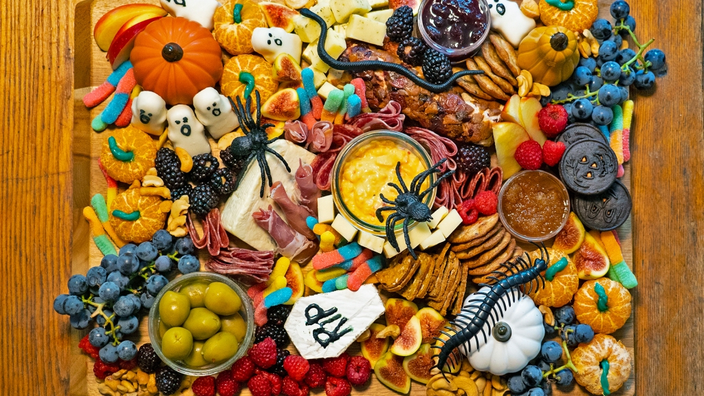 This Easy Halloween Grazing Board Brings All of the Tricks & Treats Right to Your Table
