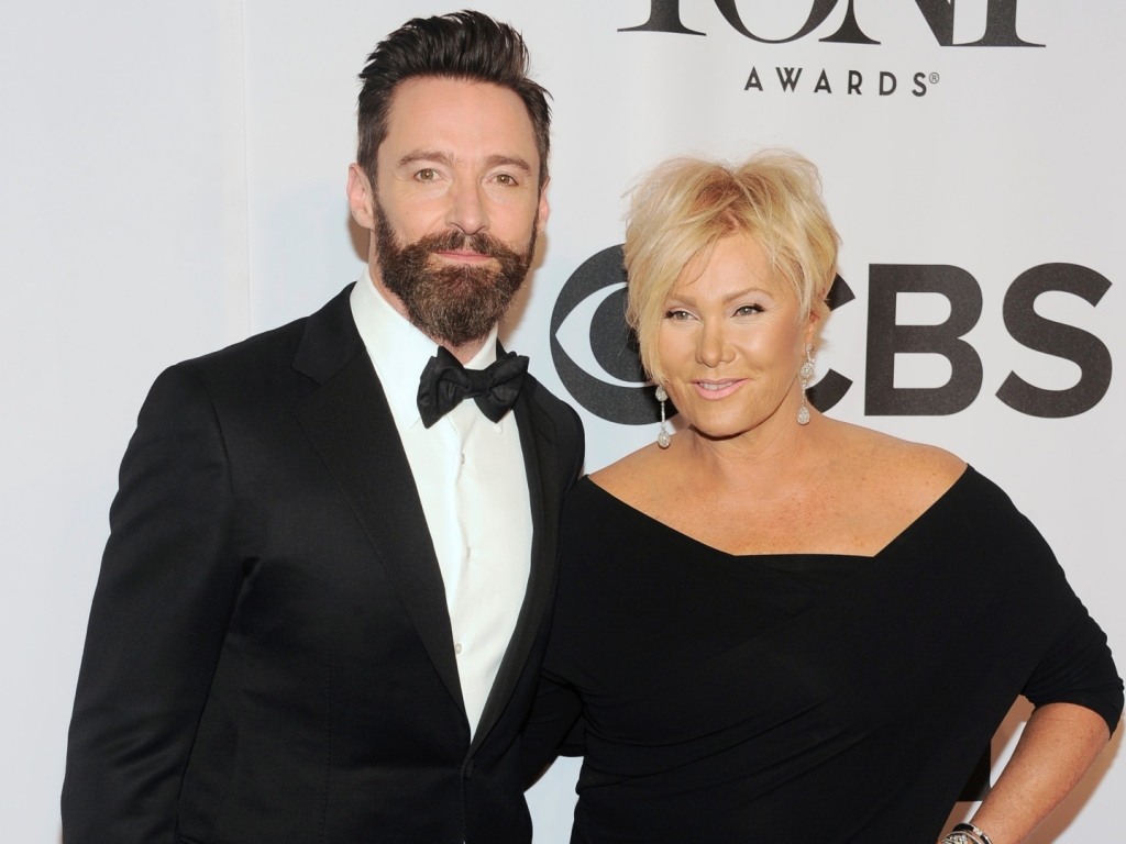 Hugh Jackman's Wife Deborra-Lee Furness Says Her Kids Have Made Her 'Smarter'