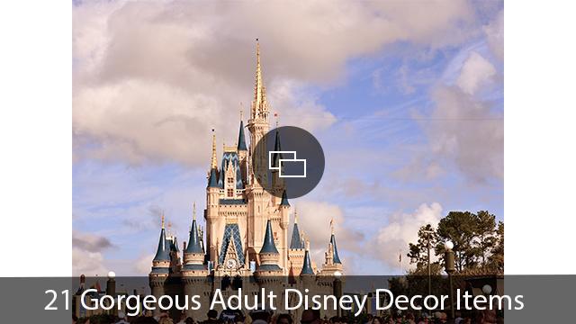Adult Disney Decor