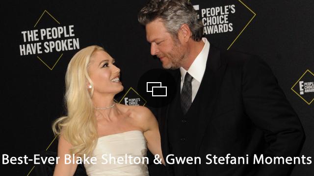 Blake Shelton Gwen Stefani Propsoal