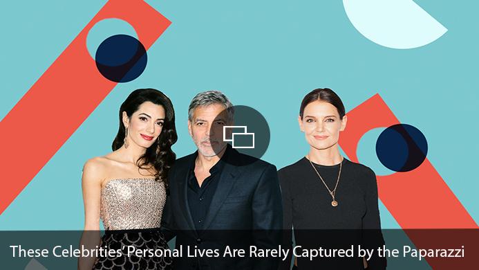 George Clooney, Amal Clooney, Katie Holmes