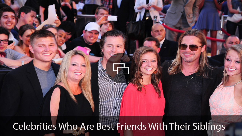 Landon Pitt, Lisa Pitt, Doug Pitt, Reagan Pitt, Brad Pitt, Sydney Pitt