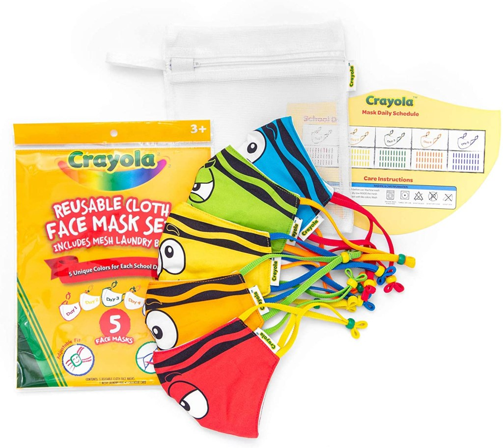crayola face masks, amazon prime day