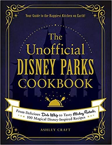 disney parks cookbook, amazon