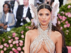 Emily Ratajkowski's Fully Naked (Except Socks) Pregnancy Selfie Celebrates 'New Body'