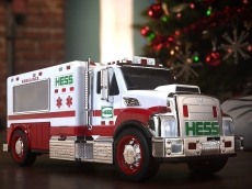 Hess Just Released Its First Ambulance Truck to Honor First Responders