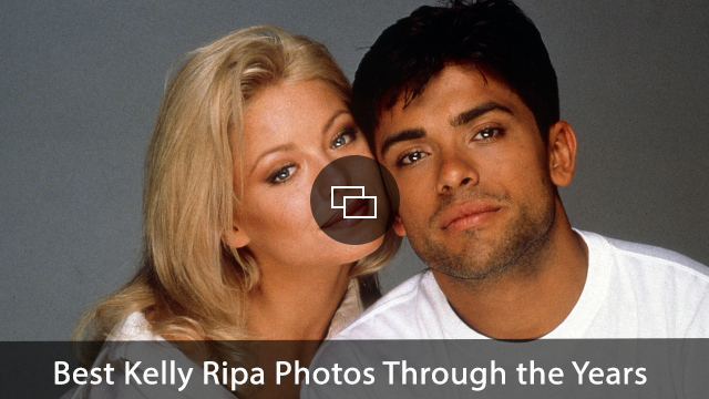 ALL MY CHILDREN, from left: Kelly Ripa, Mark Consuelos, 1996, 1970-2011