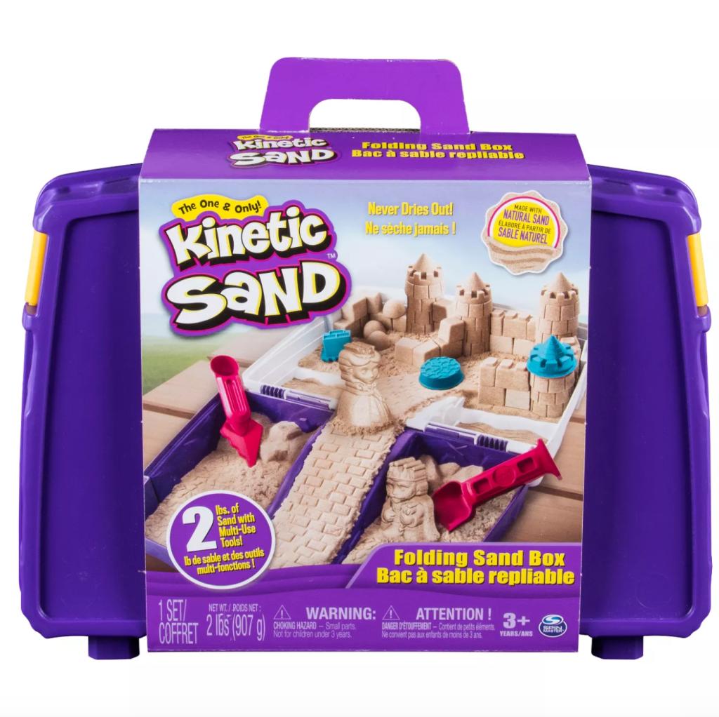 kinetic sand, target