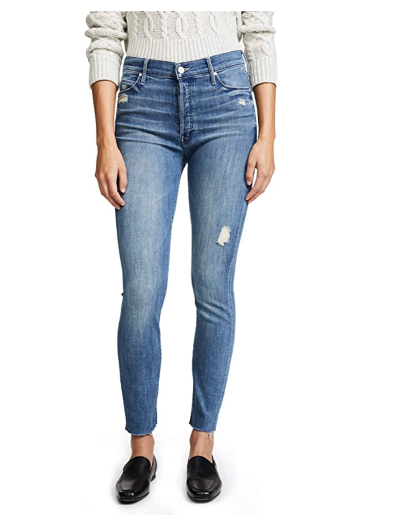 mother ankle fray jeans, amazon, meghan markle