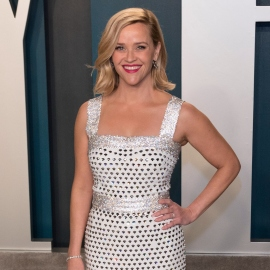 Reese witherspoon silver dress
