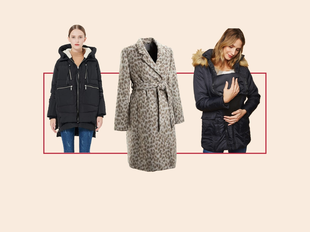 The Best Winter Maternity Coats to Fit Over Your Baby Bump (& Baby)
