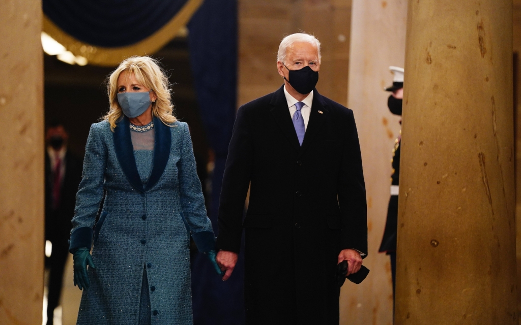 Cameras Caught an Intimate Moment Between Joe & Jill Biden at the White House — It Could Not Be More Different Than the Trumps