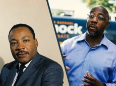 White Parents, You Can't Celebrate MLK Day Without Also Celebrating Raphael Warnock