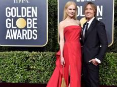 Nicole Kidman & Keith Urban's Daughters Make a Rare Golden Globes Appearance