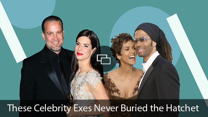 Jesse James Sandra Bullock Halle Berry Eric Benet