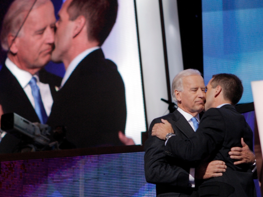 All the Best Photos of Joe Biden Being a Loving Dad to Beau, Hunter, & Ashley