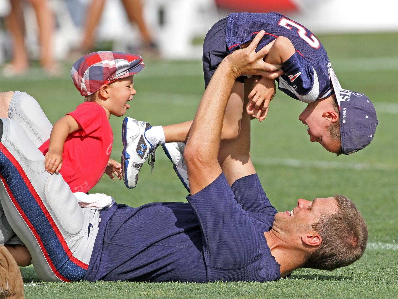 Brady kids tom Tom Brady's